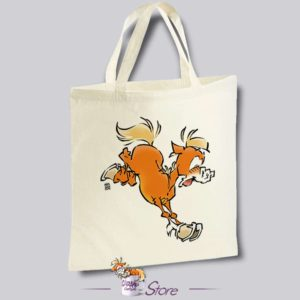Tote bag humoristique : le grand saut